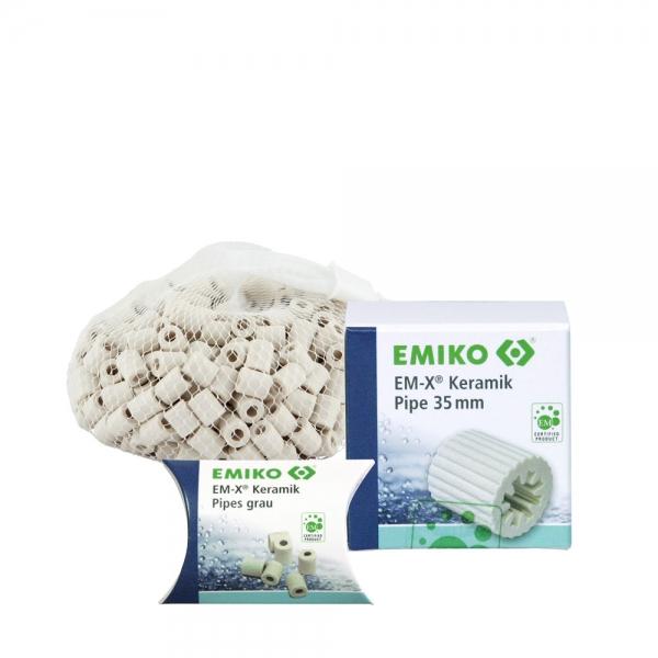 EM-Keramik Pipes grau Gruppe