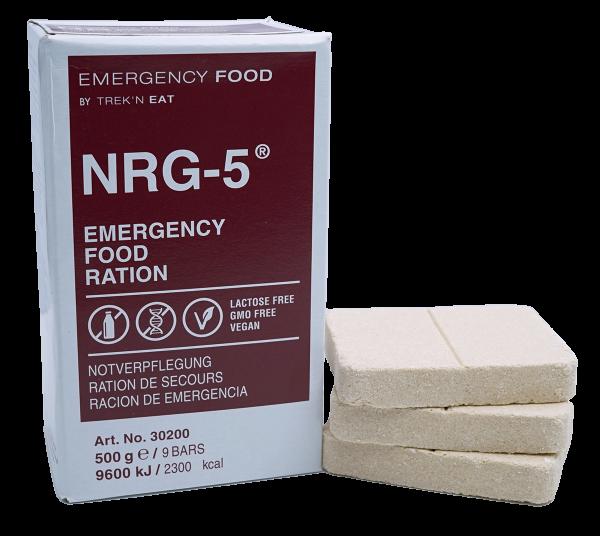 12 x Tagesrationen Emergency Food NRG-5 - Notverpflegung