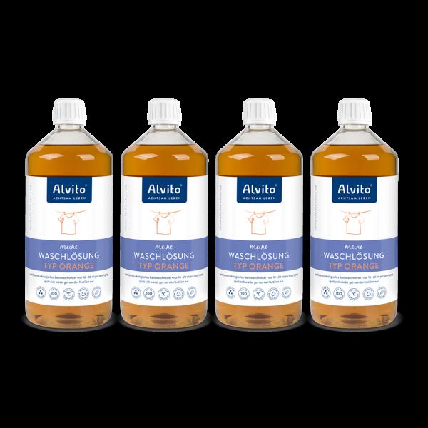 Alvito Waschlösung Orange 4 Liter Abbildung