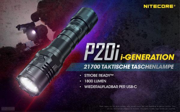 Nitecore P20i taktische Taschenlampe