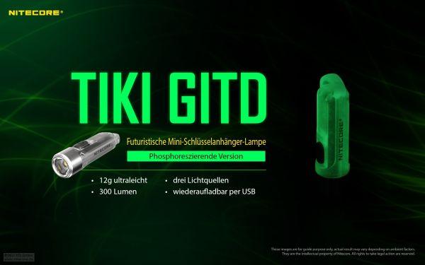 Nitecore TIKI GITD phosphoreszierende Version