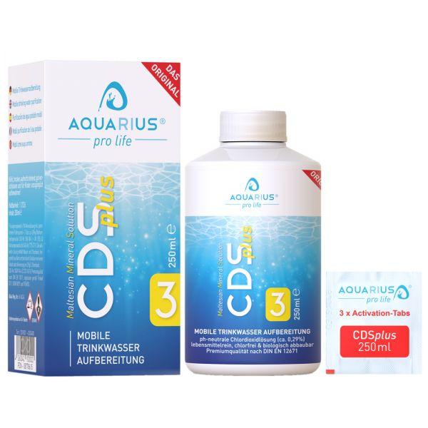 Aquarius pro life CDS plus Abbildung mit Verpackung