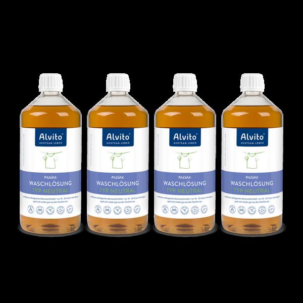 Alvito Waschlösung Neutral 4 Liter Abbildung