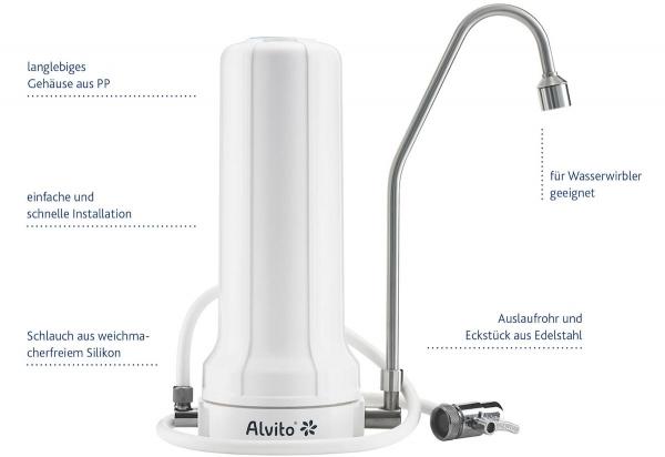 Alvito Auftischfilter Pro Abbildung mit Eigenschaften